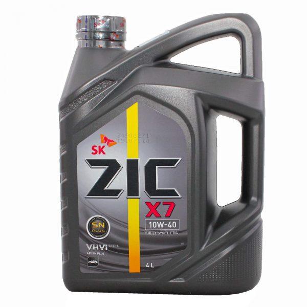 ZIC X7 10W40 SN PLUS