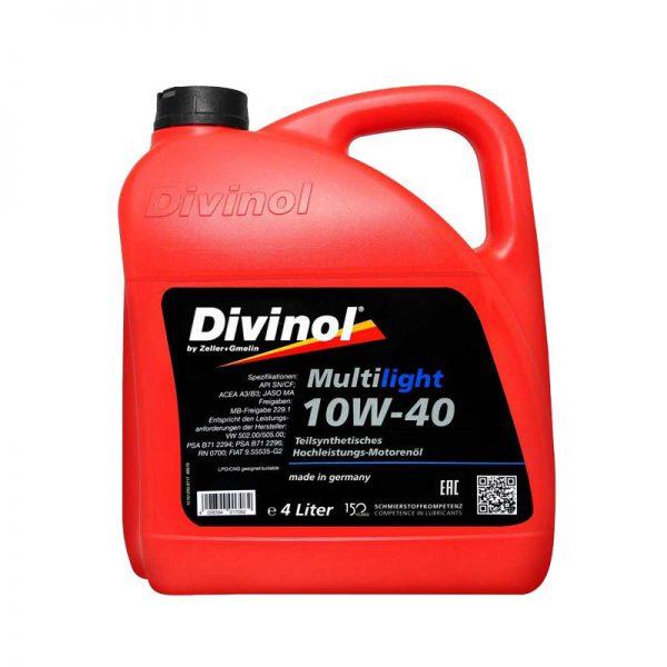 DIVINOL 10W40 SN 4LIT