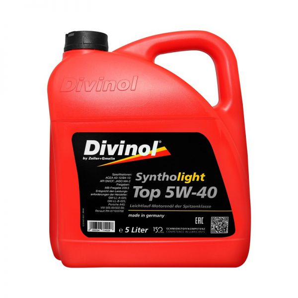 Divinol Syntholight 5W-40 top